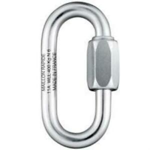 Peguet Maillon Rapide Oval 6 mm Stainless Steel