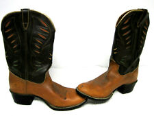 Vintage Women's USA Made Man Made Material Style 43205 Cowboy Boots Size 5 1/2