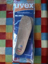 Uvex Comfort Cork Insole hydroflex gel Size 43 BNIP