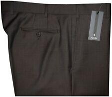$295 NEW ZANELLA NORDSTROM BROWN COPPER WEAVE SUPER 120'S WOOL DRESS PANTS 30