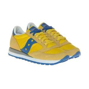Scarpe Uomo Saucony Jazz Original Sneakers Verde Giallo Blue 41 42 43 44 45 46