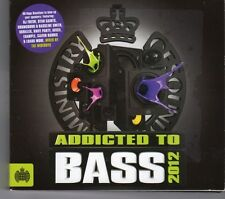 (GJ61) Ministry Of Sound, Addicted To Bass - 2012 CD