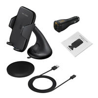 Car Wireless Fast Charger Bracket Suction Cup Bracket with Fast Charging Plug