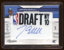 JOHN WALL 2010 PRESTIGE RC AUTO #D /199 *NBA DRAFT NY*  MINT SLAM DUNKS CHAMPS