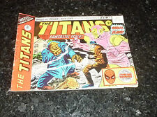 THE TITANS Starring FANTASTIC FOUR - No 33 - Date 23/06/1976 - Marvel Comic
