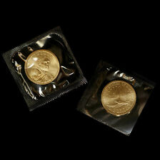 2006 P+D Sacagawea Dollar Set ~ Satin Mint ~ In Original Mint Cello