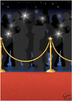 Hollywood Roter Teppich Oscars Film Party Zimmer Rolle Dekoration
