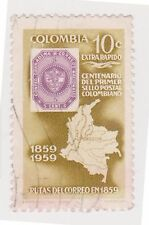 (COA-49) 1961 Colombia 10c High way congress (D)