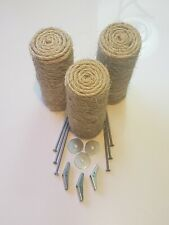Set of 3 Floating Sisal Cat Steps, Floating Step, Cat Wall, Cat Scratch, New.