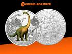3 Euro Österreich 2021 Argentinosaurus huinculensis - Der Größte der Riesen