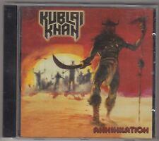 KUBLAI KHAN - annihilation CD