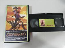 SILVERADO VHS TAPE CINTA COLECCIONISTA KEVIN COSTNER KLINE DANNY GLOVER KASDAN