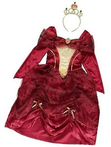 BRAND NEW AND UNWORN ( Disney Beauty and the Beast - Princess Belle Red Dress )