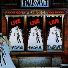Live at Carnegie Hall by Renaissance (CD, Sep-1994, 2 Discs, Repertoire)