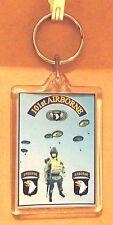 101st Airborne key ring..