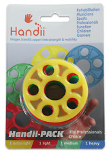 Handii - unique hand, wrist and forearm strengthening exercise bands