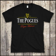 FUNNY 'THE POGUES' IRISH GUINNESS / PUNK MUSIC Tribute T SHIRT All Sizes to 5XL