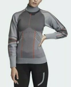 Stella McCartney Womans Small Adidas RUN midlayer Jacket (686) Primeknit Sweater