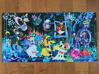 Official Japanese Pokemon Center TCG Berry's Forest Ghost's Castle Playmat 2019