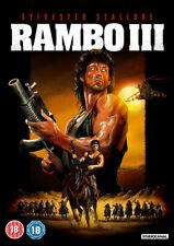 Rambo III DVD (2018) Sylvester Stallone, McDonald (DIR) cert 18 ***NEW***