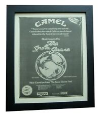 CAMEL+The Snow Goose+TOUR+POSTER+AD+RARE ORIGINAL 1975+FRAMED+FAST GLOBAL SHIP