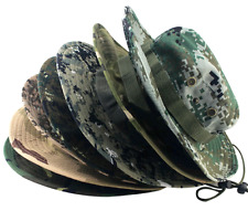 Mens Hunter Fishing Hat Breathable Camouflage Camo Outdoor L / XL