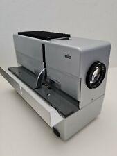 BRAUN Diaprojektor D46 Slide Projector + Fernbedienung Wetzlar Maginon 2,8/100mm
