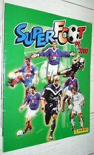 ALBUM PANINI FOOTBALL SUPER FOOT 99-2000 COMPLET CHAMPIONNAT FRANCE 1999