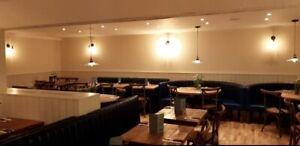 Wood Rustic Tops cafe restaurant pub Bar  Oak Commercial Bespoke Oak Tops
