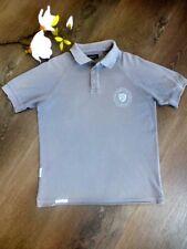 GANT ♛Cooles Kurzarmshirt Poloshirt T-Shirt RUGGER taubenblau 9 10 L 134 140 146
