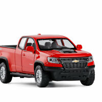 1:32 Chevrolet Colorado ZR2 Pickup Truck Model Car Diecast Vehicle Pull Back Red