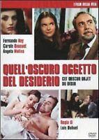 Quell'Oscuro oggetto del desiderio 1977 DVD + Booklet Nuovo Luis Bunuel Molina R