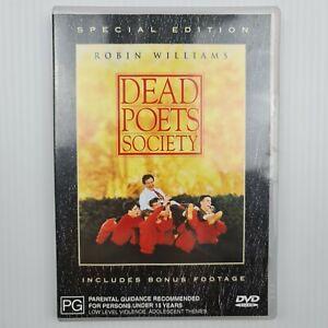 Dead Poets Society Special Edition DVD -  Robin Williams -Region 4 -TRACKED POST