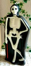 VINTAGE GURLEY STYLE HALLOWEEN 💀 SKELETON CANDLE MADE FOR VERMONT COUNTRY STORE