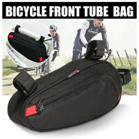 Bicycle Triangle Storage Frame Bag Cycling Mountain Bike MTB Front Pannier