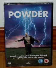 POWDER PURA ENERGIA DVD NUEVO PRECINTADO CULTO DESCATALOGADA ESPAÑOL (SIN ABRIR)