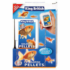 King British Goldfish  Fish Pellets Easy Clicker 26g