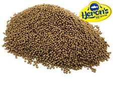 HERONS Premium Wheatgerm Pellets 3mm KOI POND FISH FOOD GOLDFISH CARP WINTER