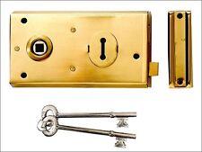 Yale Locks - P401 Rim Lock Grey Finish 138 x 76mm Visi