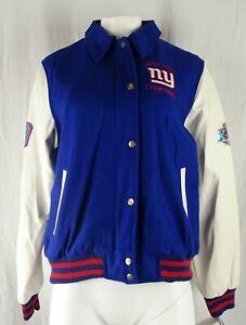 New York Giants NFL G-III Women's Bomber Jacket