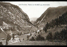 Route de MOREZ aux ROUSSES (39) SCIERIE & VILLAS vers 1930