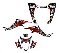 LTZ400 KFX 400 graphics kit for 2003 2004 2005 2006 2007 2008 #2500-RED