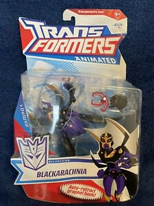Transformers Animated Blackarachnia Deluxe Class MOSC
