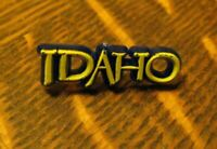 Idaho State Souvenir Lapel Pin - Vintage Gem State Pacific Northwest Travel Pin