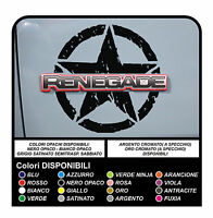 adesivi per jeep renegade stickers for renegade decals aufkleber autocollants