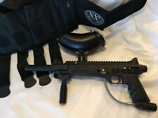 Tippmann Project Salvo US Army Paintball Gun/Marker with NXe Harness- both black