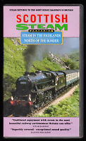SCOTTISH STEAM - IN THE HIGHLANDS / NORTH OF THE BORDER - VHS PAL (UK) VIDEO