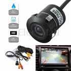 170° Car Wired Rear View Reverse Backup License Plate Camera IR Night Vision