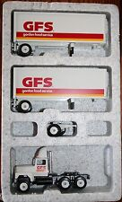 Winross 1992 GFS Gordon Food Service Ford 9000 w/ Double 28 ft Trailers NEW a