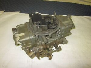 Used Holley 750cfm 4779 Double Pumper Carburetor Chevy Pontiac Ford Hot Rod